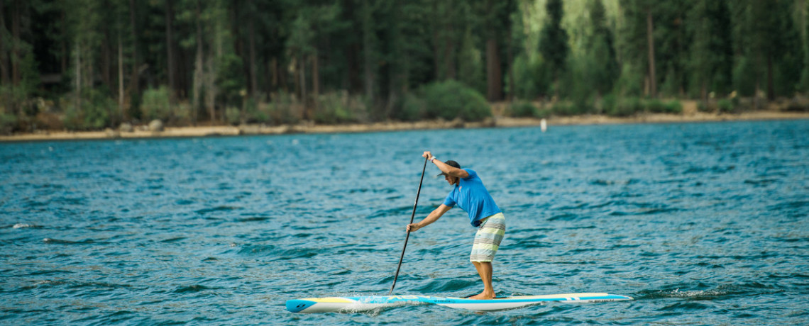 Standup Paddleboarding Training